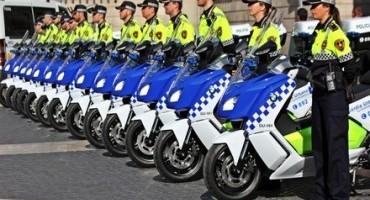 La Polizia Municipale di Cagliari utilizzerà 15 scooter elettrici BMW C evolution