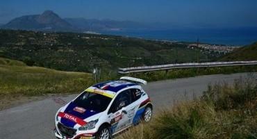ACI Sport, Italiano Rally, 99^ Targa Florio: la Peugeot 208 T16 R5 di Andreucci-Andreussi termina al comando la prima tappa