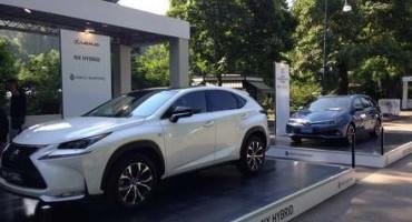 Toyota e Lexus: lo stile in mostra a Parco Valentino