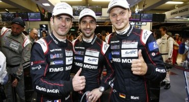 24 Ore di Le Mans, 83ª edizione: grande performance delle Porsche 919 Hybrid, il Team guadagna le prime tre posizioni in griglia
