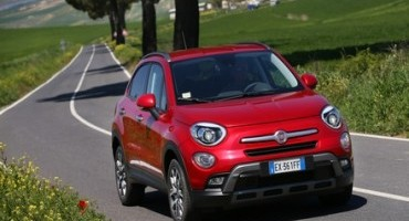 Arriva in Italia la nuova Fiat 500X 1.4 MultiAir 170CV 4×4 AT9