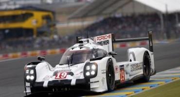 24 Ore di Le Mans 2015: vittoria della Porsche 919 Hybrid n° 19 condotta dall'equipaggio Hulkenberg, Bamber e Tandy. Porsche non vinceva dal 1998.