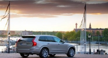 La Volvo XC90 alle nozze dei reali svedesi