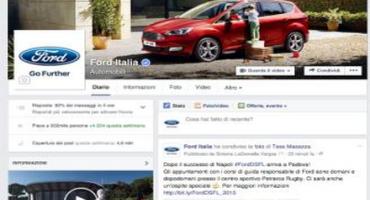 L'impegno sui social di Ford Italia: i fan raggiungono quota 500.000 su Facebook