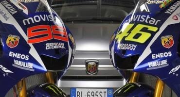 Abarth festeggia il doppio podio Yamaha