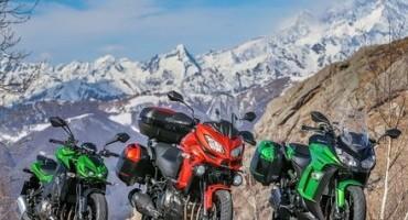 Kawasaki Versys 1000, Z1000sx e Z1000: tre moto diverse con lo stesso cuore lime green