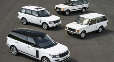 Range Rover festeggia 45 anni, tra lusso, design ed innovazione