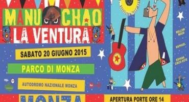 Autodromo Nazionale Monza: Manu Chao in concerto (Sabato 20 Giugno 2015)