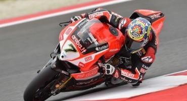 WSBK, Aruba.it Racing – Ducati Superbike Team: risultati positivi per Davies e Giugliano nelle sessioni di prove a Misano
