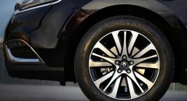 La Renault Espace monta pneumatici Dunlop