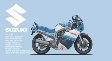 Suzuki GSX-R 30th Anniversary, una pagina su Facebook per celebrare la storia delle GSX-R