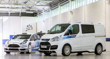 Limited Edition M-sport Ford Transit Revealed