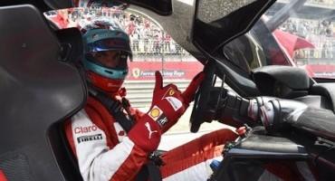 Andrea Bertolini presenta la nuova Ferrari FXX K