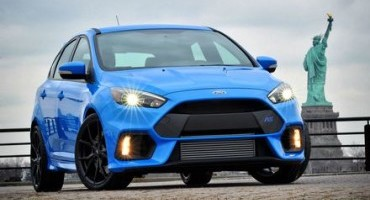 Ford Focus RS delivers 350 PS maximum power from specially engineered 2.3-litre EcoBoost engine