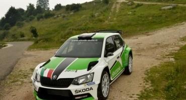 ŠKODA Italia Motorsport affila le armi e presenta la nuova Fabia R5