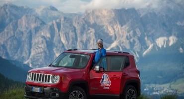 Jeep, per il terzo anno consecutivo è Main Partner dei maggiori eventi di The North Face nel 2015