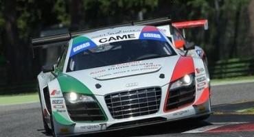 ACI Sport, Italiano Gran Turismo, la rottura del motore impedisce al duo Mapelli-Amici (Audi R8 LMS) di scendere in pista in Gara1