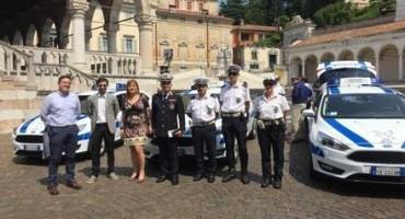 Ford Italia fornisce tre Focus Wagon alla Polizia locale di Udine per le attività di controllo del territorio