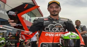 WSBK: a Portimao Pole position di Davide Giugliano (Aruba.it Racing – Ducati Superbike Team) e prima fila anche per Davies