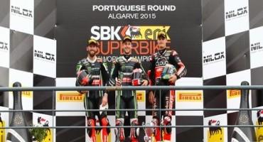 WSBK, a Portimao Jonathan Rea è ancora mattatore, vince Gara1 e porta a quota nove vittorie il proprio bottino stagionale