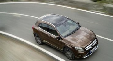Record sales for compact cars and SUVs from Mercedes-Benz