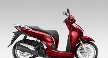 Honda presenta la versione 2016 dell'SH300i con ABS