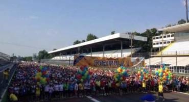 Autodromo Nazionale di Monza: in 12mila marciano per sostenere la lotta contro i tumori
