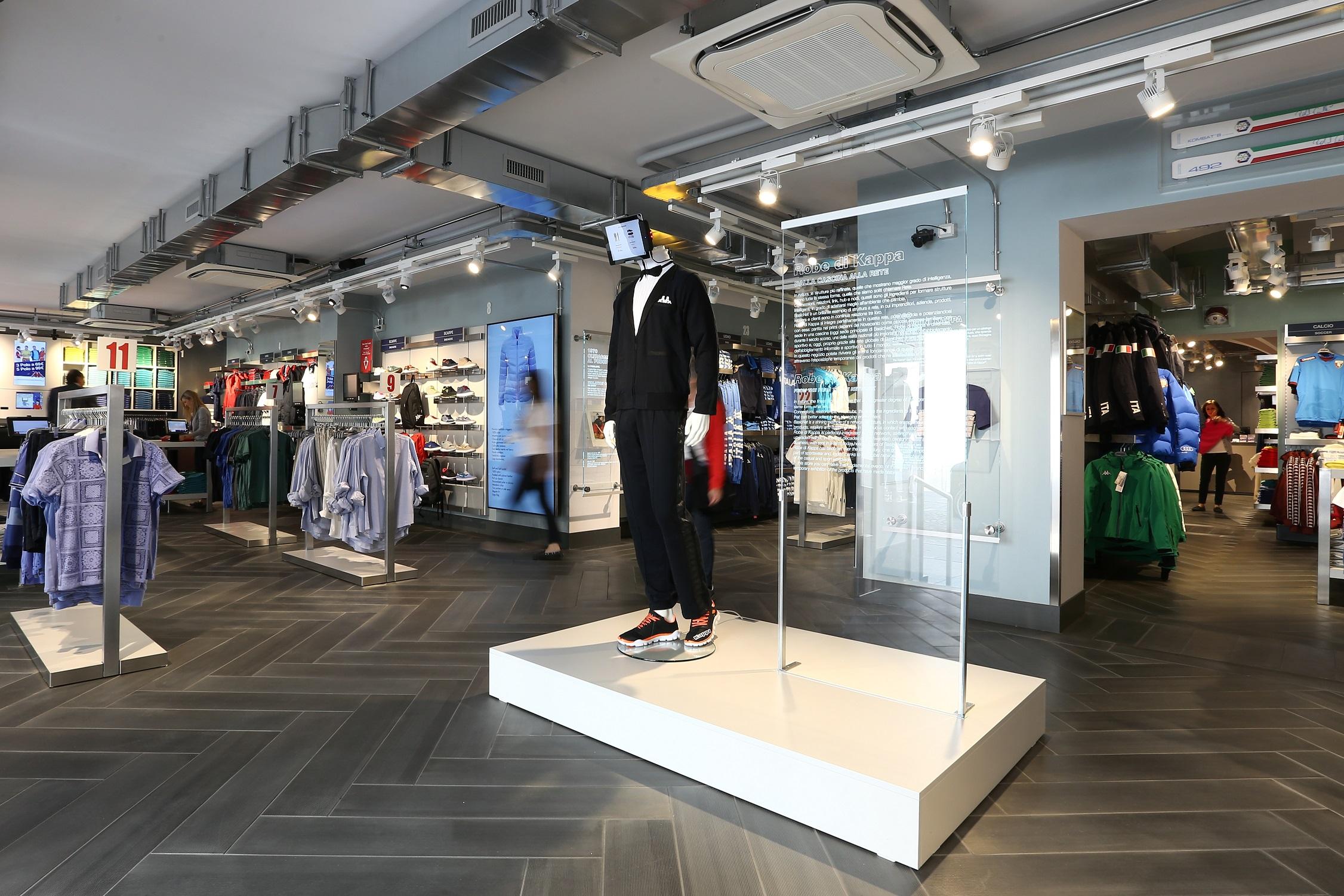 saltare successo Alleato  A Torino Robe di Kappa® inaugura il nuovo flagship store ad alta tecnologia  | Magazine sulla moda e i motori - Motor & Fashion