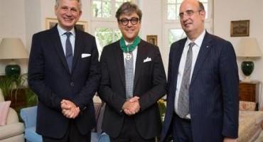 Luca De Meo insignito del titolo di Commendatore dell'Ordine al Merito della Republica Italiana