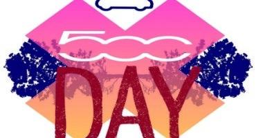"""""""500 Day"""", il 4 luglio, a Milano, per festeggiare il compleanno dell'icona Fiat"""