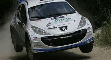 ACI Sport, Italiano Rally, San Marino: Simone Campedelli ( Peugeot 207 S2000) è in testa dopo quattro prove