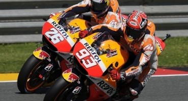 MotoGP, superb 1-2 for Repsol Honda as Marquez takes pole number four of 2015