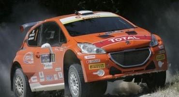 ACi Sport, Italiano Rally, Andreucci-Andreussi (208 T16 R5) al comando della prima tappa del Rally di San Marino