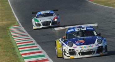 ACI Sport, Italiano Gran Turismo, Mugello, Gara 1:  Donativi-Postiglione, vittoria conquistata con grande determinazione