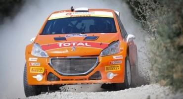 43° Rally di San Marino: doppietta degli equipaggi ufficiali di Peugeot Italia (Andreucci-Andreussi) e (Tassone-Michi) e vittoria del campionato italiano rally  junior