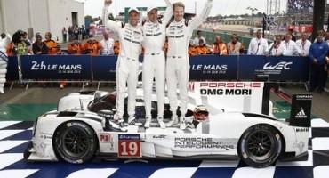 Goodwood Festival of Speed, c'era anche lei la regina dell'edizione 2015 della 24 Ore di Le Mans, la Porsche 919 Hybrid