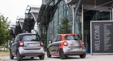 smart: nella gamma, disponibili dieci combinazioni di motore e cambio