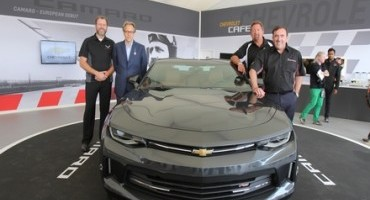 La nuova Camaro presentata in anteprima Europea al Goodwood Festival of Speed