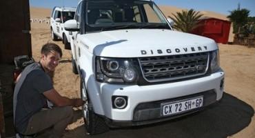 Delticom, si è appena conclusa la Land Rover Experience, un'esperienza off road in Namibia