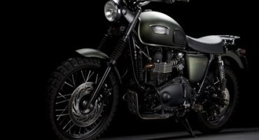 Triumph mette all'asta la Scrambler di Jurassic World a supporto di The Distinguished Gentleman's Ride