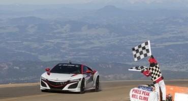 Honda Earns Three Class Victories at Pikes Peak International Hill Climb