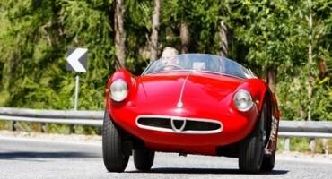 """""""Coppa d'Oro delle Dolomiti 2015"""", Alfa Romeo è Joint Presenting Sponsor della gara internazionale di regolarità per auto storiche"""