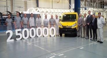 """Citroën Jumpy """"LA POSTE"""": nello stabilimento di Sevelnord costruito il 2,500,000 veicolo"""