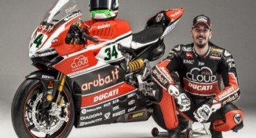 Davide Giugliano, il pilota ufficiale dell'Aruba.it Racing – Ducati Superbike Team è costretto ad interrompere la sua stagione SBK 2015