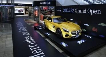 In Asia inaugurato il primo Mercedes me Store