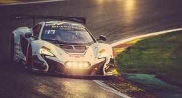 The McLaren 650S GT3 claims top 10 finish at the total 24 Hours of Spa-Francorchamps