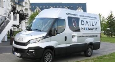"""Il nuovo Iveco DAILY si aggiudica il premio """"Best Kep Transporter 2015"""", mentre il Daily Hi-Matic l' """"Innovation Award"""""""