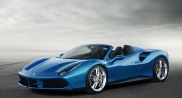 Ferrari svela la nuova 488 Spider