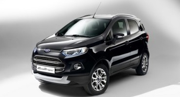 Enhanced Ford EcoSport Compact SUV Now Available to Order with Improved Styling, Dynamics and Refinement