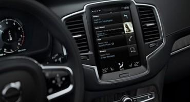 Volvo Cars, il sistema Sensus è l'interfaccia HMI più innovativa